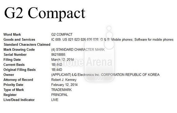 LG G2 Compact