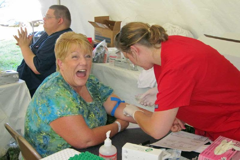 Gina Gives Blood 2