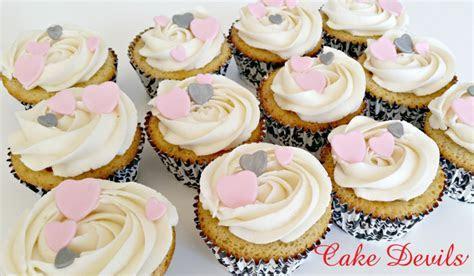 Heart Bridal Shower Cake / CupCake Toppers, Handmade