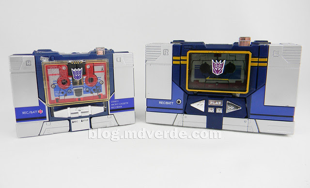 Transformers Soundwave Masterpiece - modo alterno vs G1