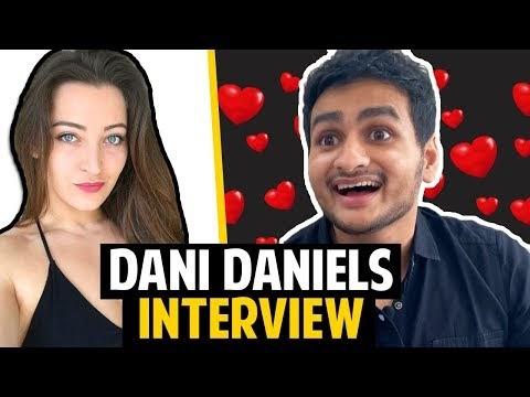 DANI DANIELS INTERVIEW: Her ONLY Video You Can Watch With Family! | Anmol Sachar | Funny Hindi Vines