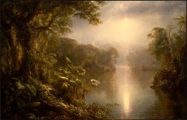 American Romanticism Paintings
