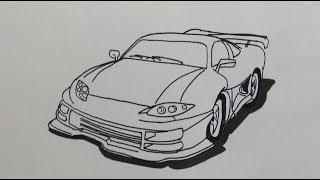 Categorias De Vídeos Drawing A Sport Car