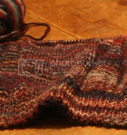 patchwork cast on