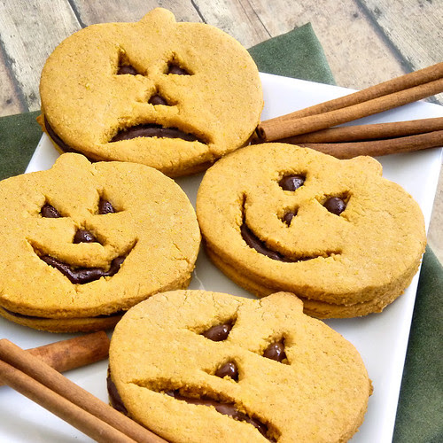 Spiced Pumpkin Sandwich Cookies - Take 1