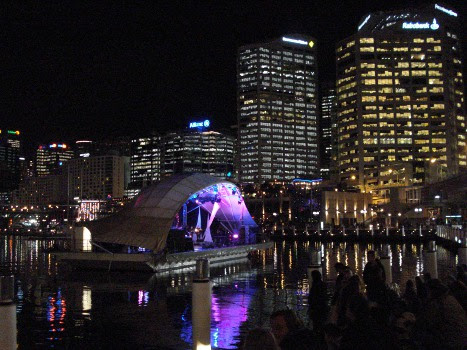 Convention - Jazz festival on Darling Harbour