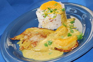 escalopes_de_veau___la_cr_me_au_curry_et___l_orange