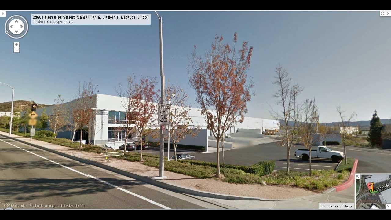 Place Where Murio Paul Walker Google Maps Lugar Donde