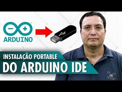 Instalação portable do Arduino IDE