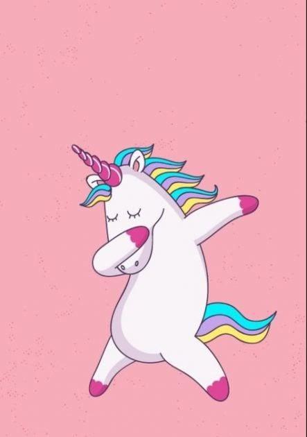 Wallpaper Tumblr Pink Unicorn - HD Wallpaper