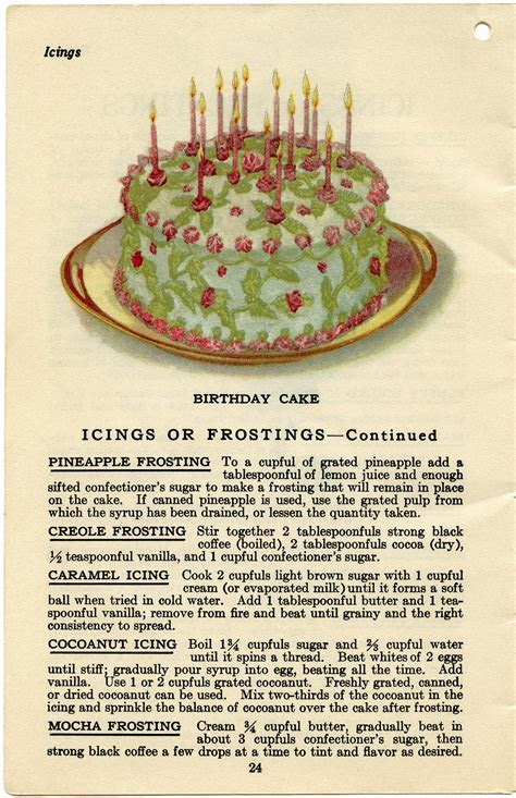Cake Fillings and Frostings   Old Design Shop Blog