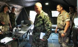 Militar serbio integrado en el ejercicio
