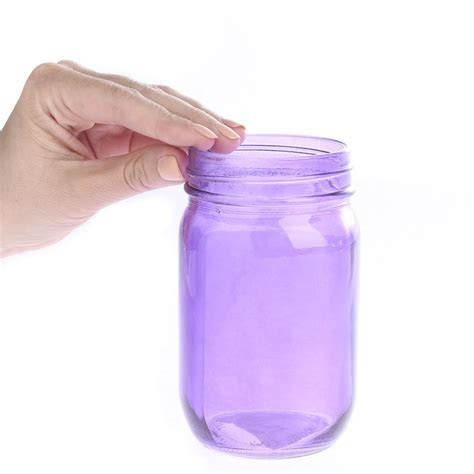 Purple Glass Canning Jar   Kitchen and Bath   Home Decor