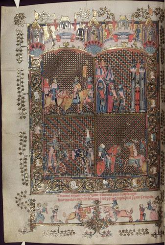 The Romance of Alexander 101v MS. Bodl. 264