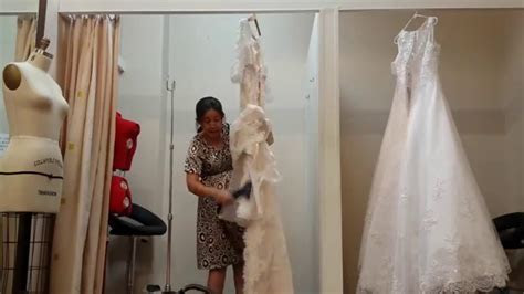 Steam Lace Wedding Dresses   Upright steamer   YouTube