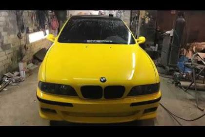 Bmw E39 Yellow