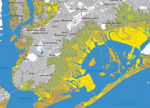 Brooklyn Hurricane Flooding Map
