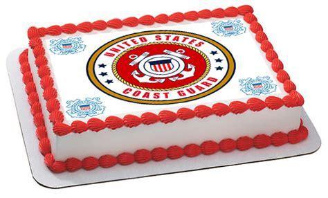 US Coast Guard Edible Birthday Cake Topper