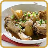 Stewed Chicken & Potatoes with Bean Sauce