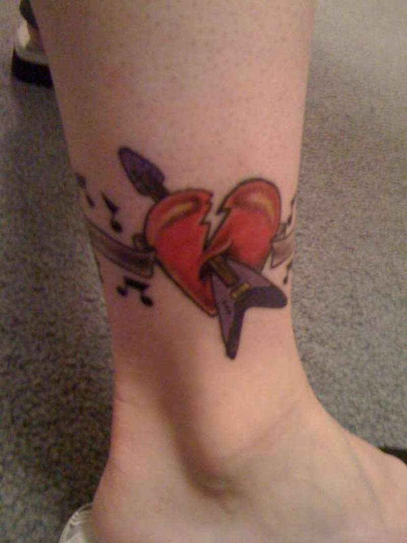 Music Notes Symbols Tattoos Tattoos Book 65000 Tattoos Designs