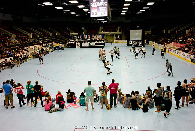 Wings Stadium as a venue for roller derby!