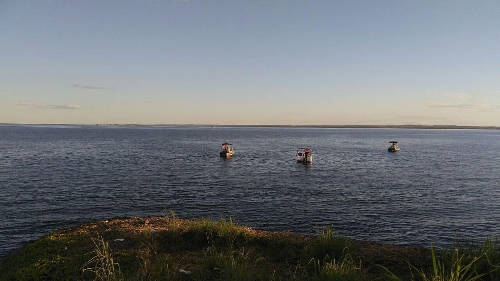 Bombeiros encontram corpo no lago de Palmas (Foto: Divulgação/Bombeiros)