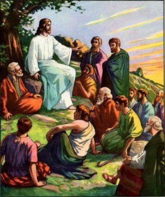 Image result for Cristo hablando con todos