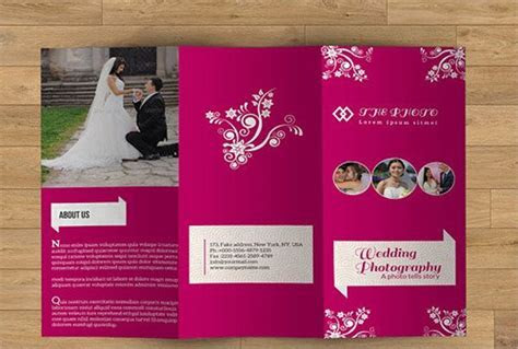 17  Event Management Brochure Templates   AI, PSD, Word