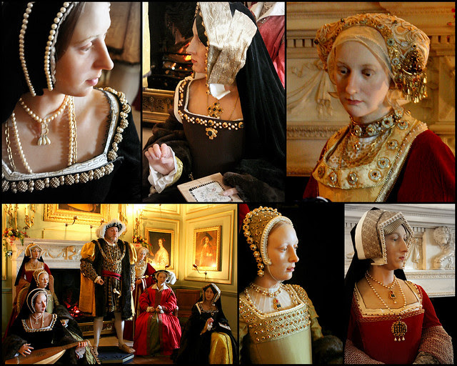 Henry VIII and wives exhibition