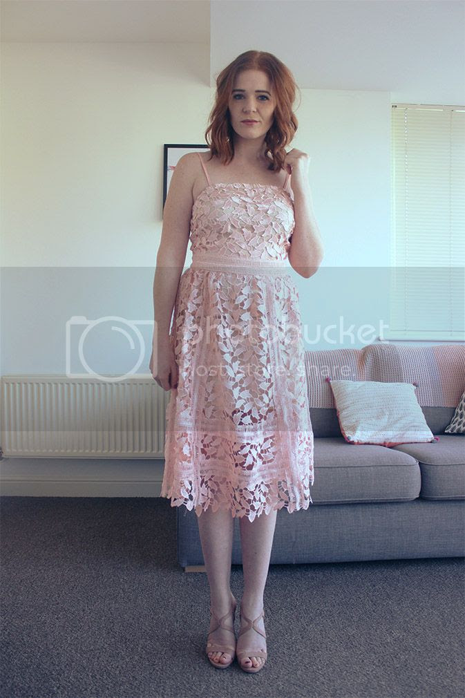 self portrait style dupe dress