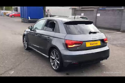 Audi A1 S Line Grey 2016