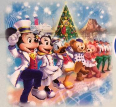 今年のシーのクリスマスの衣装は白ベースの衣装が素敵2018