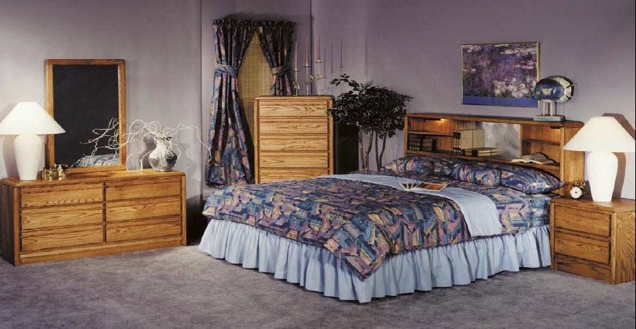 Accent Furniture Normandy Wall Unit Set | Interior Decorating