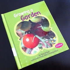 """I've been watching videos on YouTube and looking up on Google about gardening... Every Wednesday Julia's class go to the library to choose a book to bring home for the week and today she brought this one! """"I though you would like it, Mom!"""", she said smil by Chris Pessoa"""