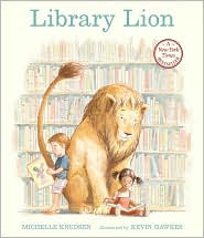 Library Lion by Michelle Knudsen: Book Cover