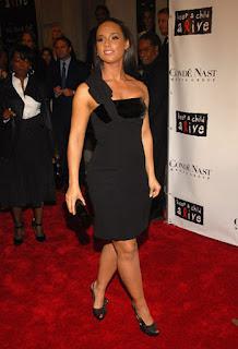 Celebrity Style: Bow Detail One Shoulder Dress