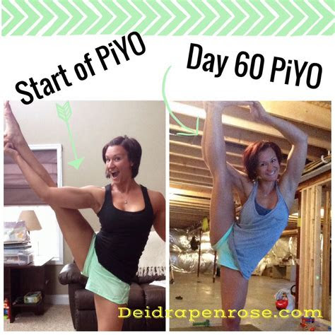 deidra penrose piyo results beachbody test group