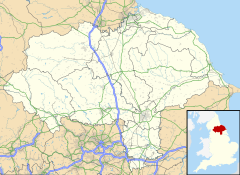 Stainton is located in North Yorkshire
