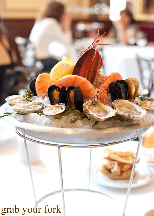 petit seafood plate at bouchon bistro beverly hills la los angeles