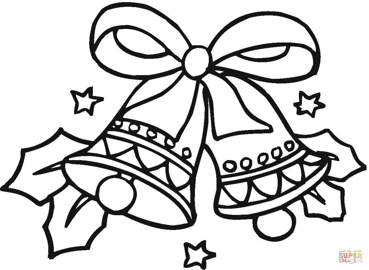 Christmas Bells coloring page | Free Printable Coloring Pages