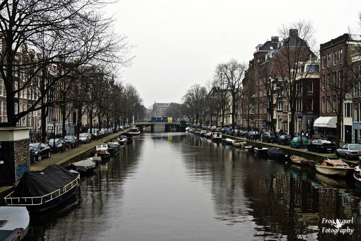 7.3, Canal in Amsterdam
