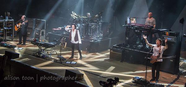 Friday night of the Marillion Weekend, Wolverhampton UK, 2013
