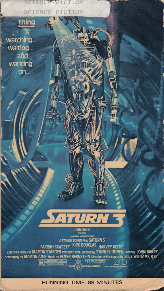Saturn 3 (VHS Box Art)