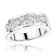 gold  diamond mens wedding band ct  stone