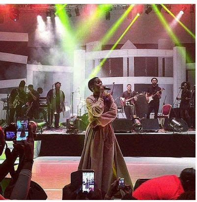 Lauryn Hill Thrills Fans At Lagos Live Concert