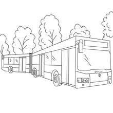 Dibujos Para Colorear Parada De Autobus Eshellokidscom
