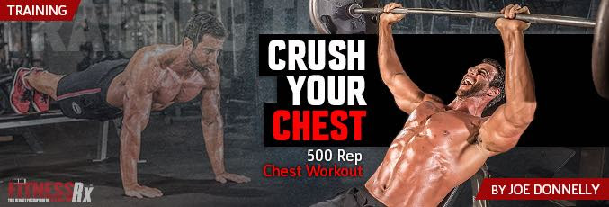 Crush Your Chest: 500 Rep Workout