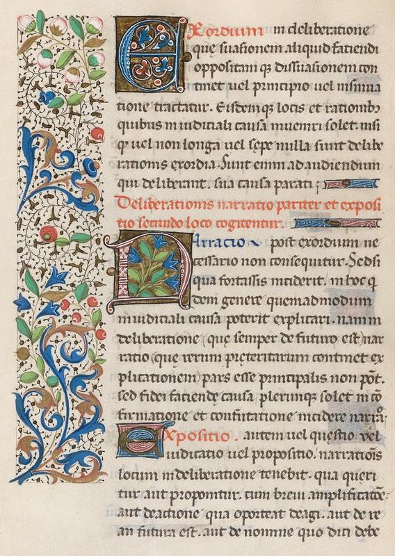 93v - Cod. Bodmer 176 (Rhetorica - 1471)