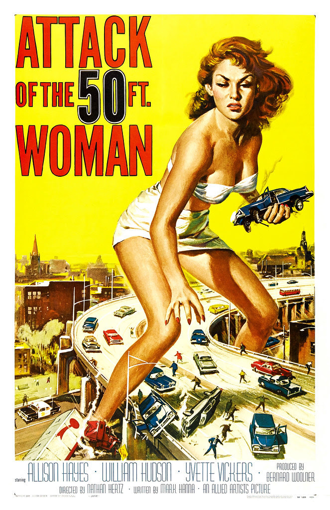 Reynold Brown - Attack of the 50 Foot Woman (Allied Artists, 1958)