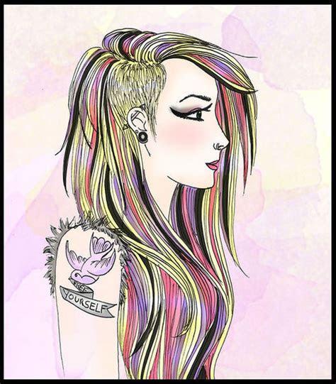 tattoo girl drawing girl drawings tattoo designs tattowmag